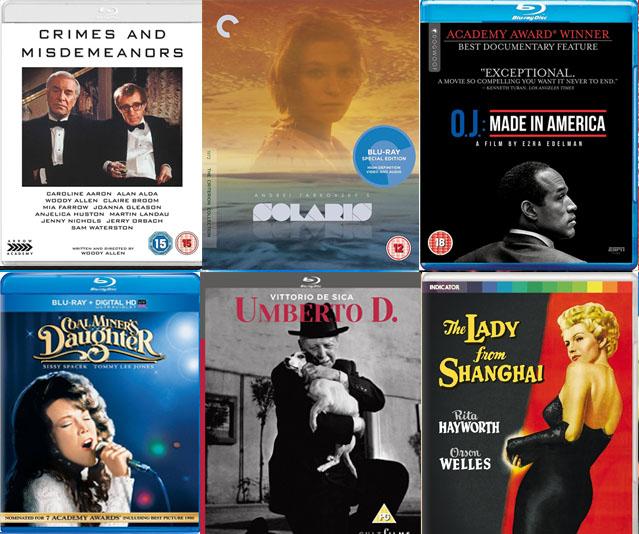 DVD & Blu-ray Picks: April 2017