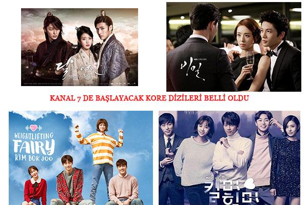Kanal 7 de 2018 yaz sezonunda başlayacak Kore dizileri