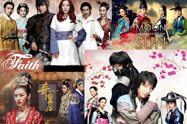 Tarihi türde en çok izlenen 10 Kore Dizisi listesi