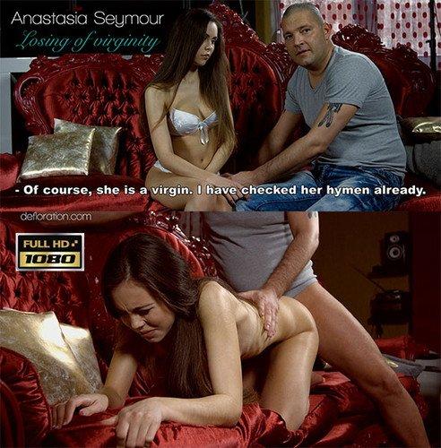 Anastasia Seymour , Losing Virginity , porno cu virgine , dezvirginate , amatoare , filme porno , 2015 , hd ,