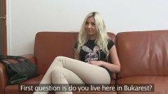 Porno casting Romania Julia 2016 full HD 1080p super tare .