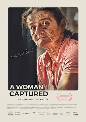 Film Poster: A WOMAN CAPTURED