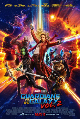 Film Poster: Guardians of the Galaxy Vol. 2