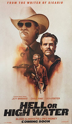 Film Poster: Hell or High Water