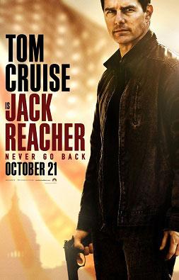 Film Poster - Jack Reacher: Never Go Back