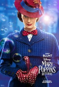Film Poster: MARY POPPINS RETURNS