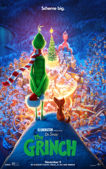 Film Poster: THE GRINCH