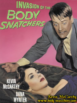 Kevin McCarthy on the Invasion of the Body Snatchers