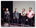 CineVegas11 - FFT Photo Coverage -- Director DAVID BARKER (WITH MIC) AND CAST OF DAYLIGHT