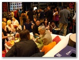 CineVegas11 - FFT Photo Coverage -- Cinevegas Sunday Brunch(Dennis Hopper foreground)