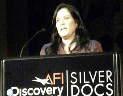 Academy Award winning dir. Barbara Kopple introduces Albert Maysles at the Guggenheim Symposium