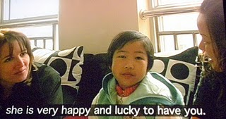She is very happy and lucky to have you.