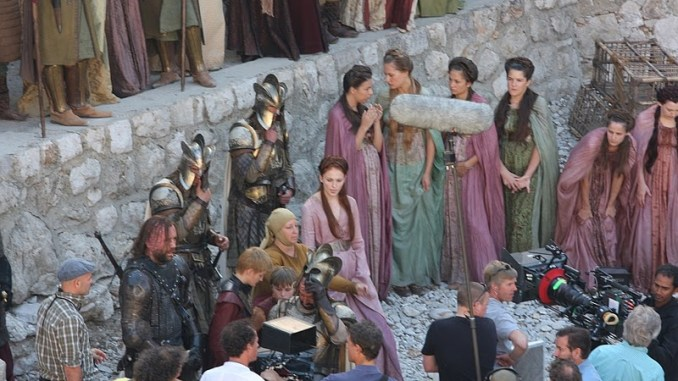 game of thrones set croazia
