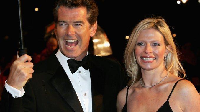 Pierce e Charlotte Brosnan