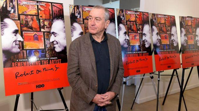 robert de niro remembering the artist