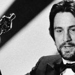 De Niro al ritiro dell'Oscar nell' 81