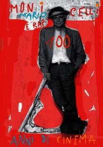 Locandina 100 anni Monicelli
