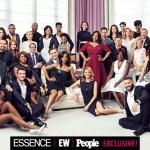 L'epica foto di Shonda Rhimes con l'intero cast di Grey's Anatomy, Scandal e How To Get Away With Murder.