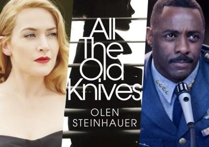 Kate Winslet en Idris Elba in thriller All The Old Knives