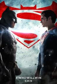 Nieuwe Batman v Superman: Dawn of Justice poster
