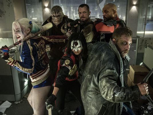 Nieuwe foto Suicide Squad