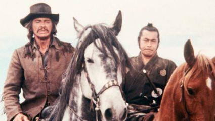 Charles Bronson en Toshiro Mifune in Red Sun (1971)