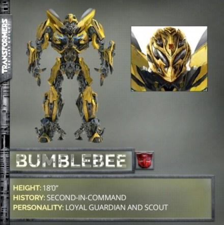 Eerste blik op Bumblebee in Transformers: The Last Knight