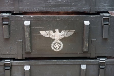 Blenhem Palace turned into Nazi Palace for Transformers Film set.