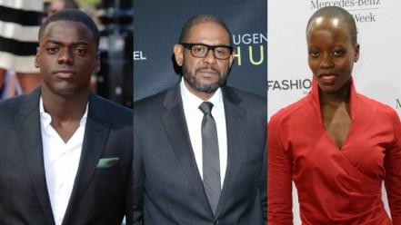 Forest Whitaker en anderen in Marvel's Black Panther