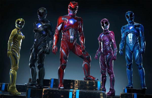 Nieuwe trailer Power Rangers
