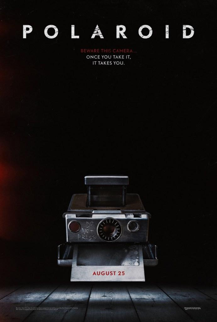 Nieuwe poster horror/thriller Polaroid