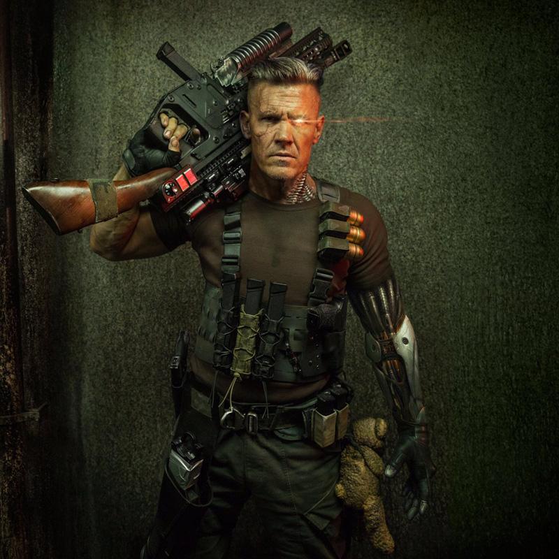 Eerste blik op Josh Brolin als Cable in Deadpool 2