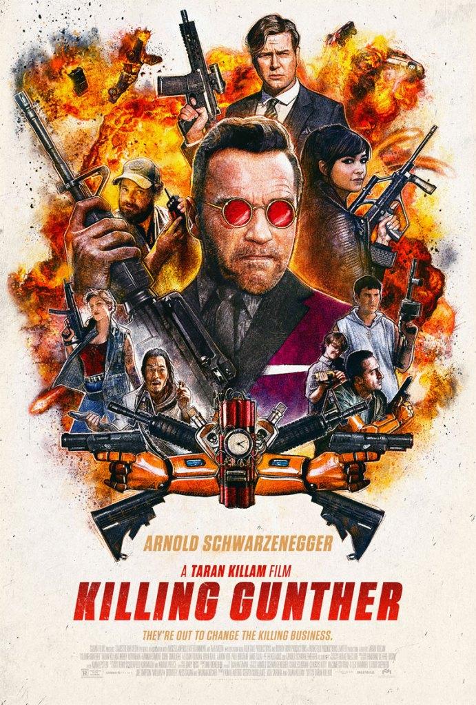 Killing Gunther trailer en poster met Arnold Schwarzenegger