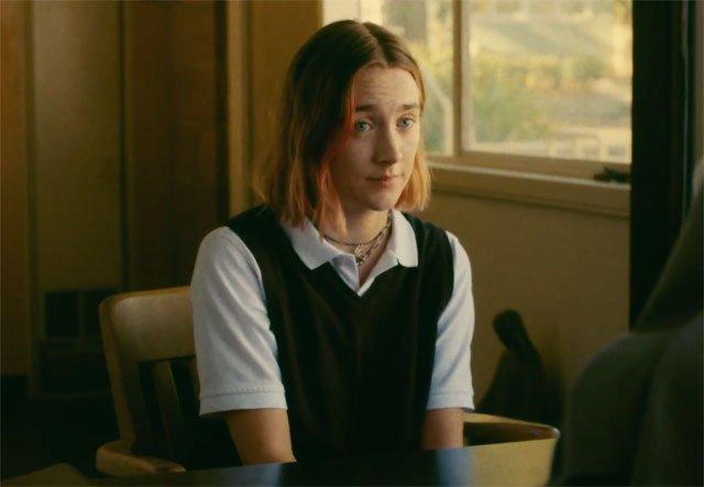 Lady Bird trailer en poster met Saoirse Ronan