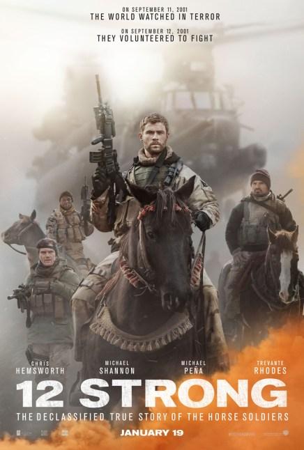 12 Strong trailer met Chris Hemsworth en Michael Shannon