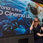 Samsung creëert minder donker 3D-bioscoopscherm