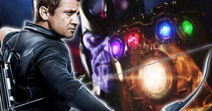 Hawkeye in Avengers: Infinity War