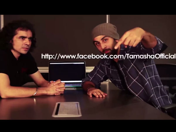 Ranbir Kapoor Tamasha Video| Ranbir Kapoor Tamasha Publicity| Ranbir Kapoor Imtiaz Ali| Ranbir Kapoor Social Media|