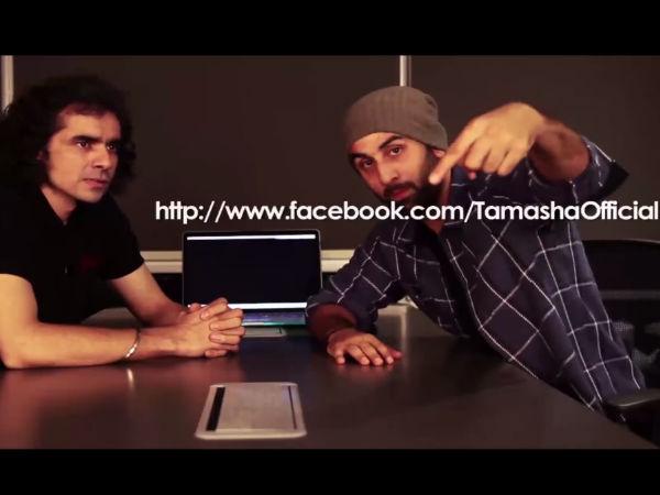 Ranbir Kapoor Tamasha Video  Ranbir Kapoor Tamasha Publicity  Ranbir Kapoor Imtiaz Ali  Ranbir Kapoor Social Media 