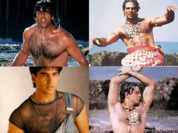 Image result for akshay kumar in 90s