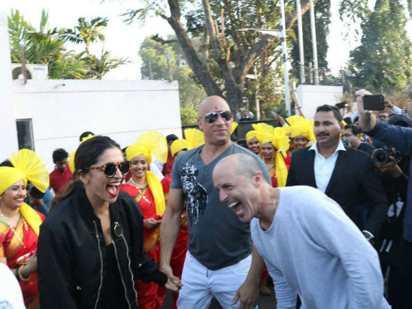 Dj Caruso With Deepika & Vin