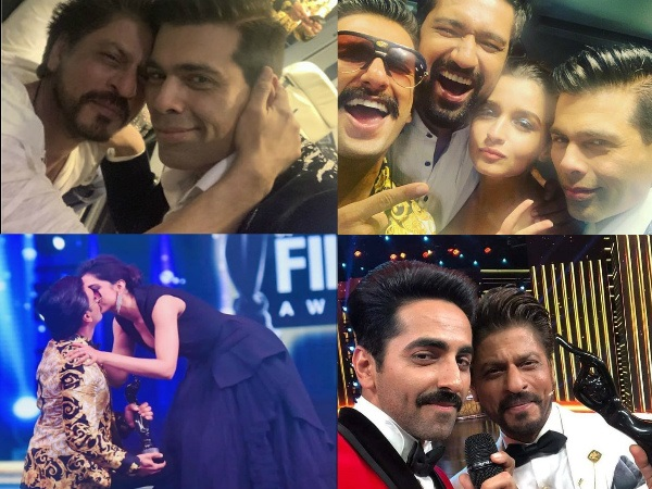Inside Pics From Filmfare Awards 2019: Ranveer-Deepika Share