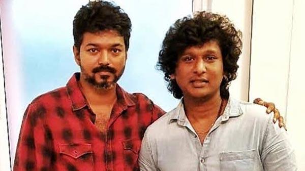 Vijay with Lokesh Kanagaraj