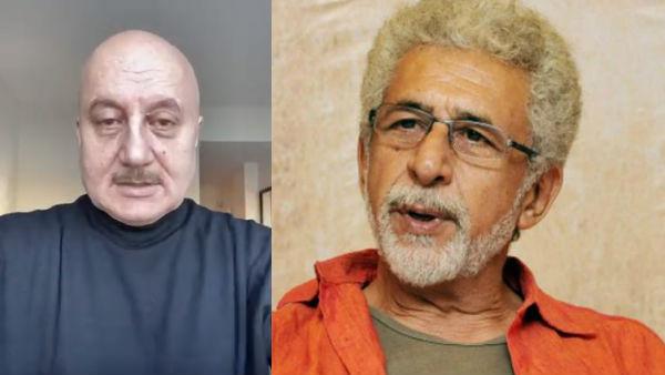 VIDEO: Anupam Retorts To Naseeruddin For Calling Him A Clown