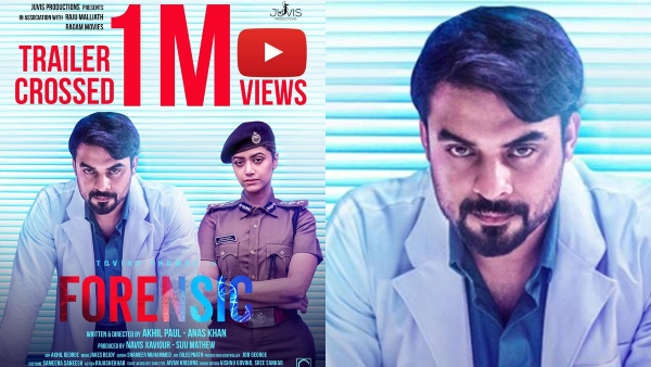 Tovino Thomass Forensic: The Official Trailer Crosses 1 Million Views