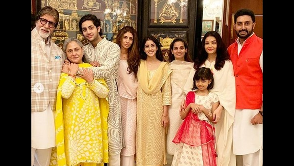 Abhishek Bachchan Thanks His Family For Being His Pillar Of Support