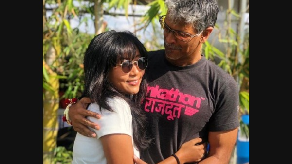 Milind Soman's Wife Ankita Konwar Hits Back At Haters For Trolling Her Hubby For His Grey T-Shirt