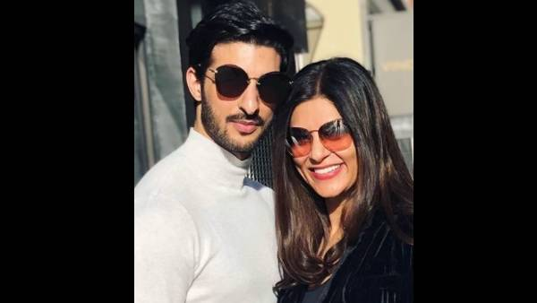 Sushmita Sen Shares Silhouette Picture Of Herself, Credits Beau Rohman Shawl For The Same