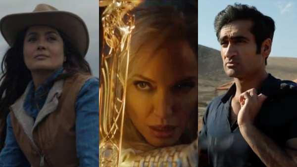 Marvel Reveals First Look Of Chloe Zhao's Eternals; Angelina Jolie, Kumail Nanjiani, Salma Hayek Look Timeless