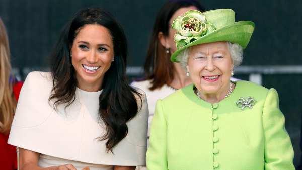 महारानी एलिजाबेथ 'प्रसन्न' प्रिंस हैरी और मेघन मार्कल के बाद बेबी गर्ल लिलिबेट डायना का स्वागत है